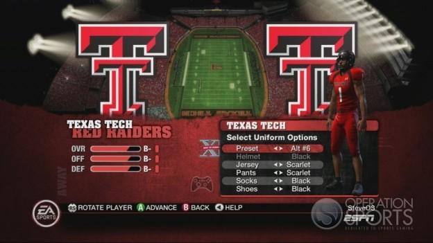 NCAA Football 10 Screenshot #151 for Xbox 360