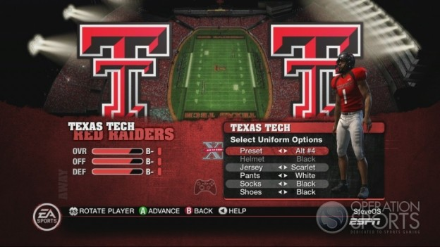 NCAA Football 10 Screenshot #153 for Xbox 360
