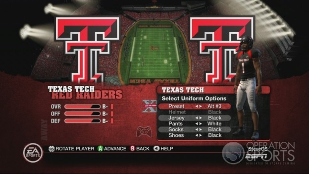 NCAA Football 10 Screenshot #154 for Xbox 360