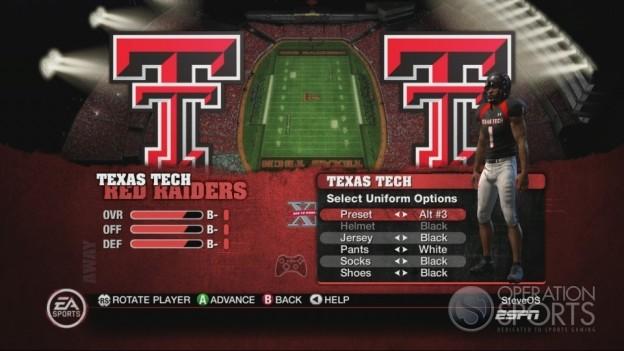 NCAA Football 10 Screenshot #154 for Xbox 360