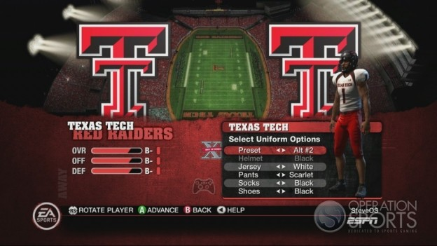 NCAA Football 10 Screenshot #155 for Xbox 360