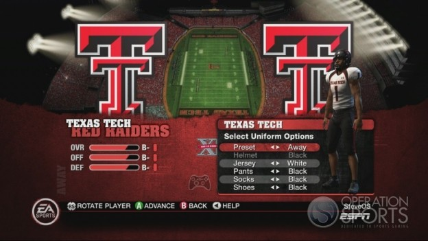NCAA Football 10 Screenshot #157 for Xbox 360
