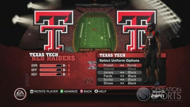 NCAA Football 10 Screenshot #158 for Xbox 360
