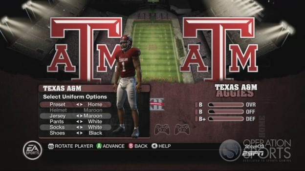NCAA Football 10 Screenshot #159 for Xbox 360