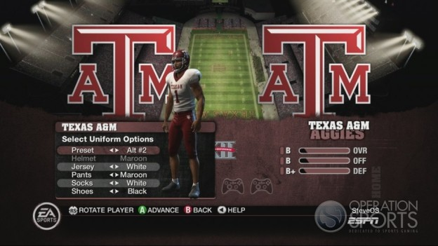 NCAA Football 10 Screenshot #160 for Xbox 360