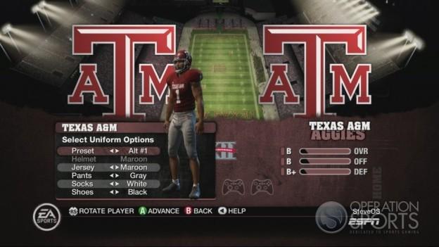 NCAA Football 10 Screenshot #161 for Xbox 360