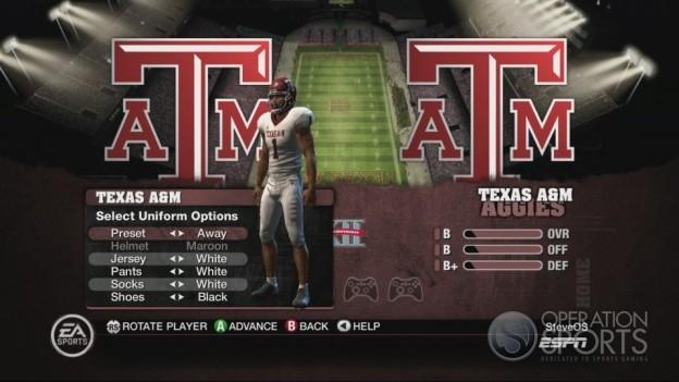 NCAA Football 10 Screenshot #162 for Xbox 360