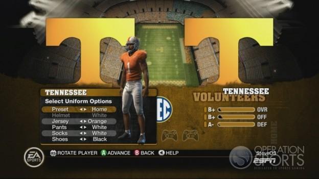 NCAA Football 10 Screenshot #165 for Xbox 360