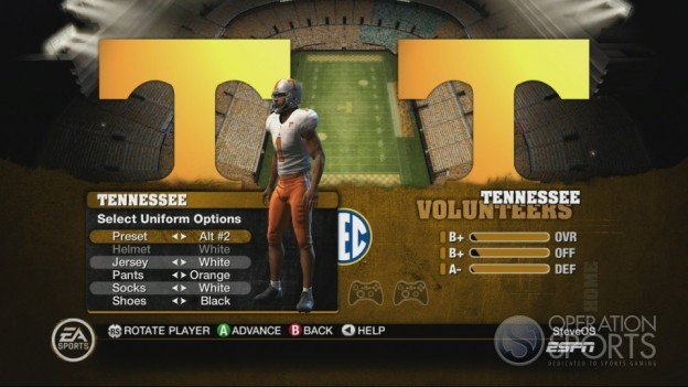 NCAA Football 10 Screenshot #166 for Xbox 360