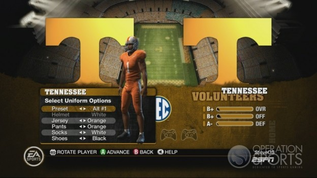 NCAA Football 10 Screenshot #167 for Xbox 360