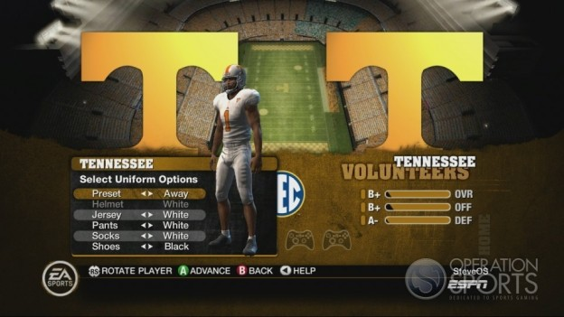 NCAA Football 10 Screenshot #168 for Xbox 360