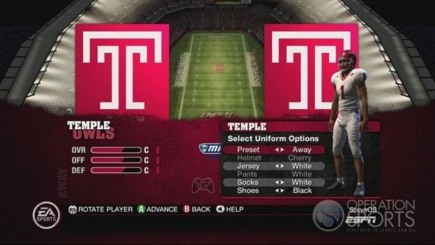 NCAA Football 10 Screenshot #169 for Xbox 360