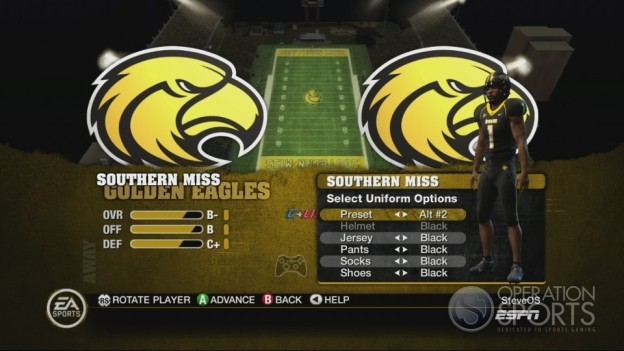 NCAA Football 10 Screenshot #186 for Xbox 360