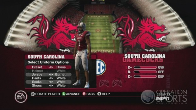 NCAA Football 10 Screenshot #190 for Xbox 360