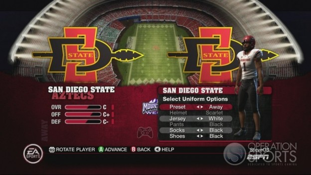 NCAA Football 10 Screenshot #202 for Xbox 360