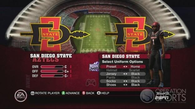 NCAA Football 10 Screenshot #203 for Xbox 360