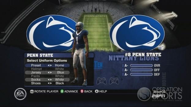 NCAA Football 10 Screenshot #219 for Xbox 360