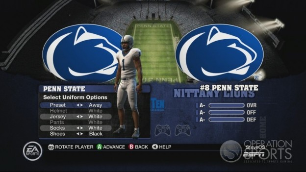 NCAA Football 10 Screenshot #220 for Xbox 360