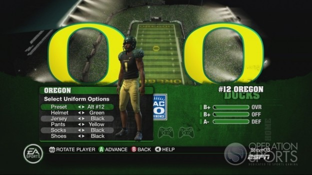 NCAA Football 10 Screenshot #228 for Xbox 360