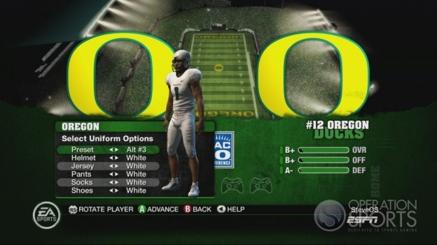 NCAA Football 10 Screenshot #237 for Xbox 360