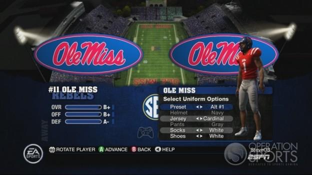 NCAA Football 10 Screenshot #241 for Xbox 360