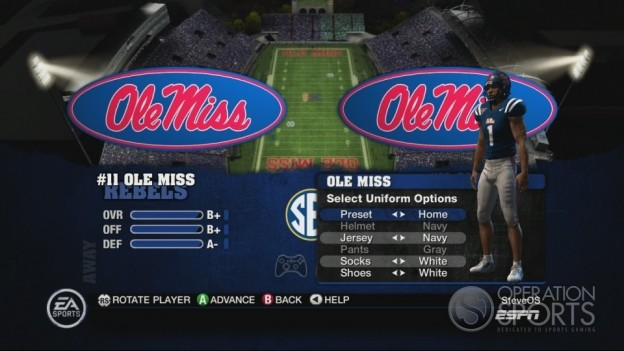 NCAA Football 10 Screenshot #243 for Xbox 360