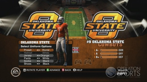 NCAA Football 10 Screenshot #244 for Xbox 360