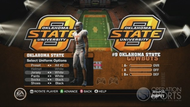 NCAA Football 10 Screenshot #245 for Xbox 360