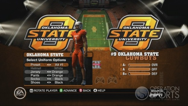 NCAA Football 10 Screenshot #246 for Xbox 360