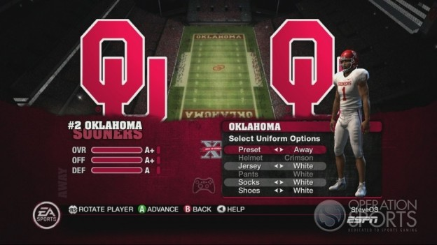 NCAA Football 10 Screenshot #248 for Xbox 360