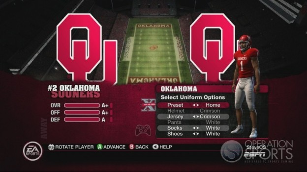 NCAA Football 10 Screenshot #249 for Xbox 360