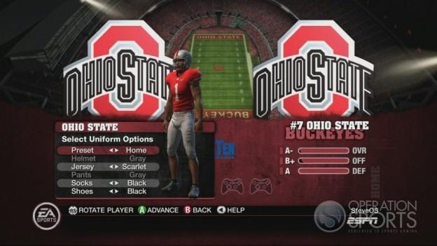 NCAA Football 10 Screenshot #250 for Xbox 360