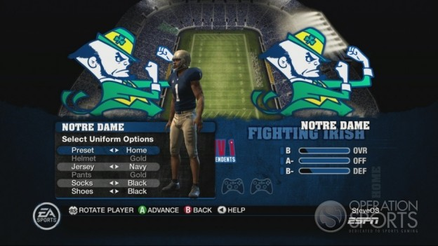 NCAA Football 10 Screenshot #255 for Xbox 360