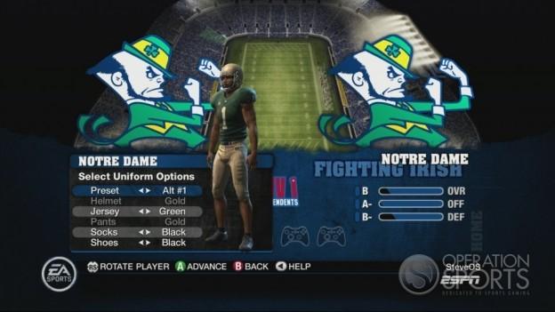 NCAA Football 10 Screenshot #256 for Xbox 360