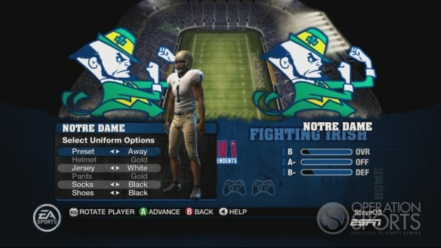NCAA Football 10 Screenshot #257 for Xbox 360