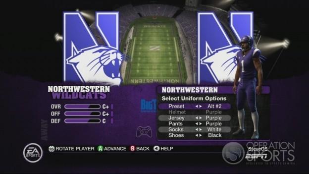 NCAA Football 10 Screenshot #258 for Xbox 360