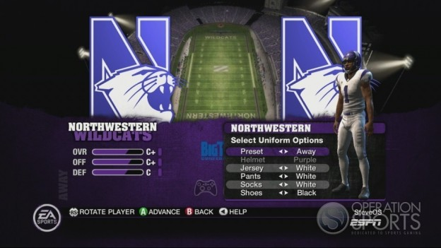 NCAA Football 10 Screenshot #260 for Xbox 360