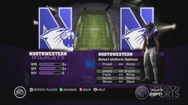 NCAA Football 10 Screenshot #261 for Xbox 360