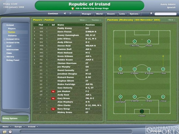 Football Manager 2006 Screenshot #1 for PC