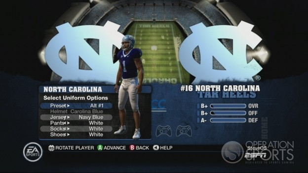 NCAA Football 10 Screenshot #269 for Xbox 360