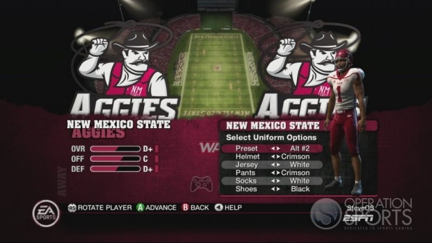 NCAA Football 10 Screenshot #271 for Xbox 360