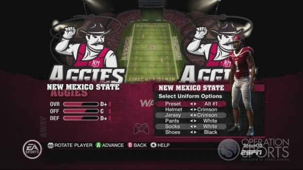 NCAA Football 10 Screenshot #272 for Xbox 360