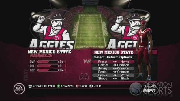 NCAA Football 10 Screenshot #274 for Xbox 360