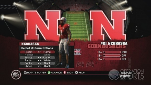 NCAA Football 10 Screenshot #279 for Xbox 360
