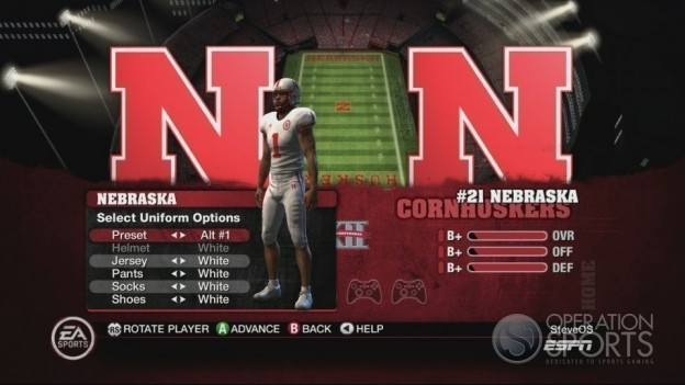 NCAA Football 10 Screenshot #280 for Xbox 360