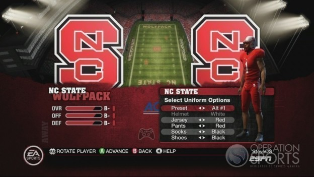 NCAA Football 10 Screenshot #283 for Xbox 360