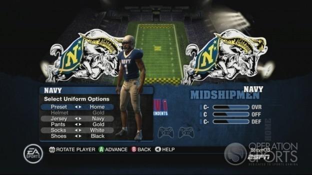 NCAA Football 10 Screenshot #286 for Xbox 360