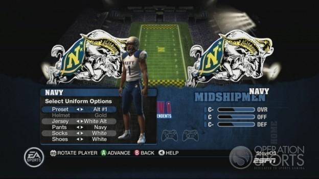 NCAA Football 10 Screenshot #287 for Xbox 360