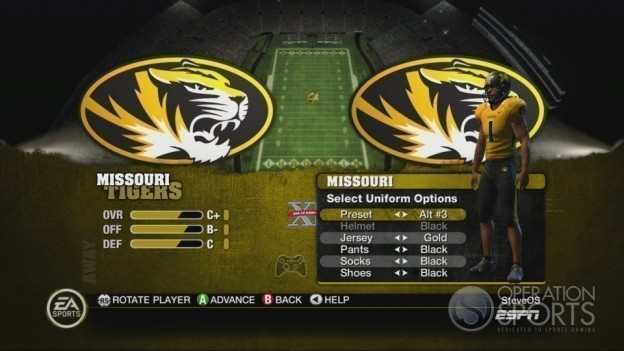 NCAA Football 10 Screenshot #290 for Xbox 360
