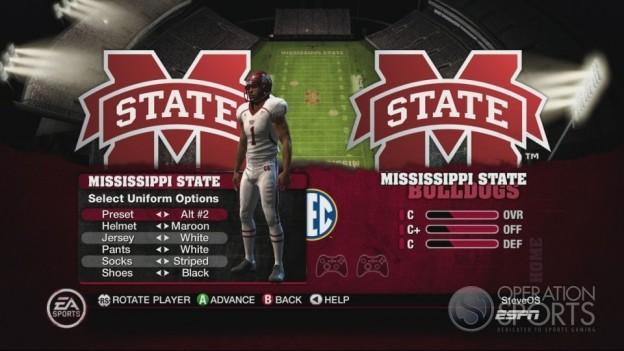 NCAA Football 10 Screenshot #296 for Xbox 360